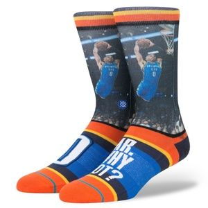STANCE Russ Westbrook Mr. Why Not? NBA Crew Socks